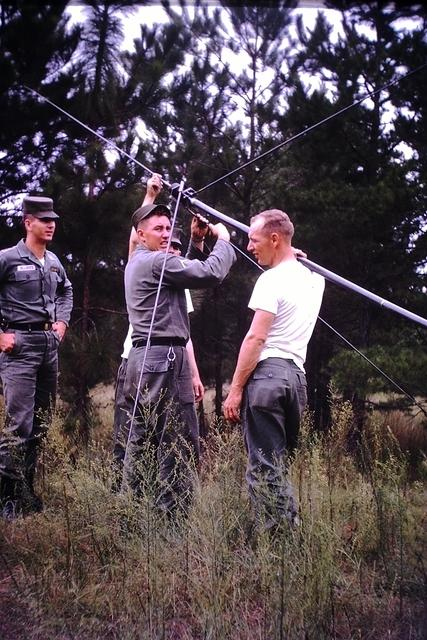 Assembing an FM radio antennea Fort Rucker Alabama