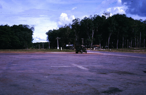 Airstrip at Dieu Tieng (Michelin Rubber Plantation)